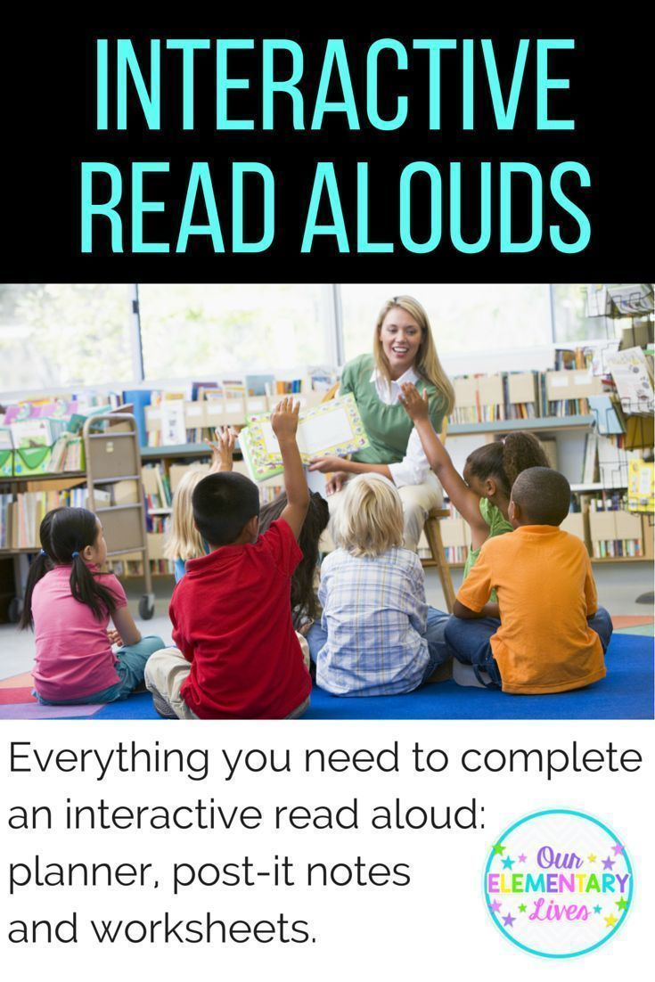 Interactive read alouds made easy all you need to do is