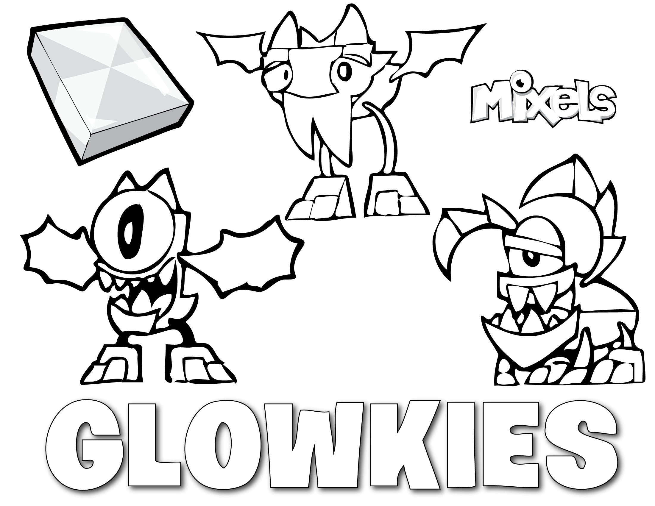 Mixels Coloring Pages Mixel Coloring Page  My Little Corner  Page 2  Mixels