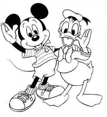 imagenes para colorear mickey mouse bebe | entretenimiento para tu ...