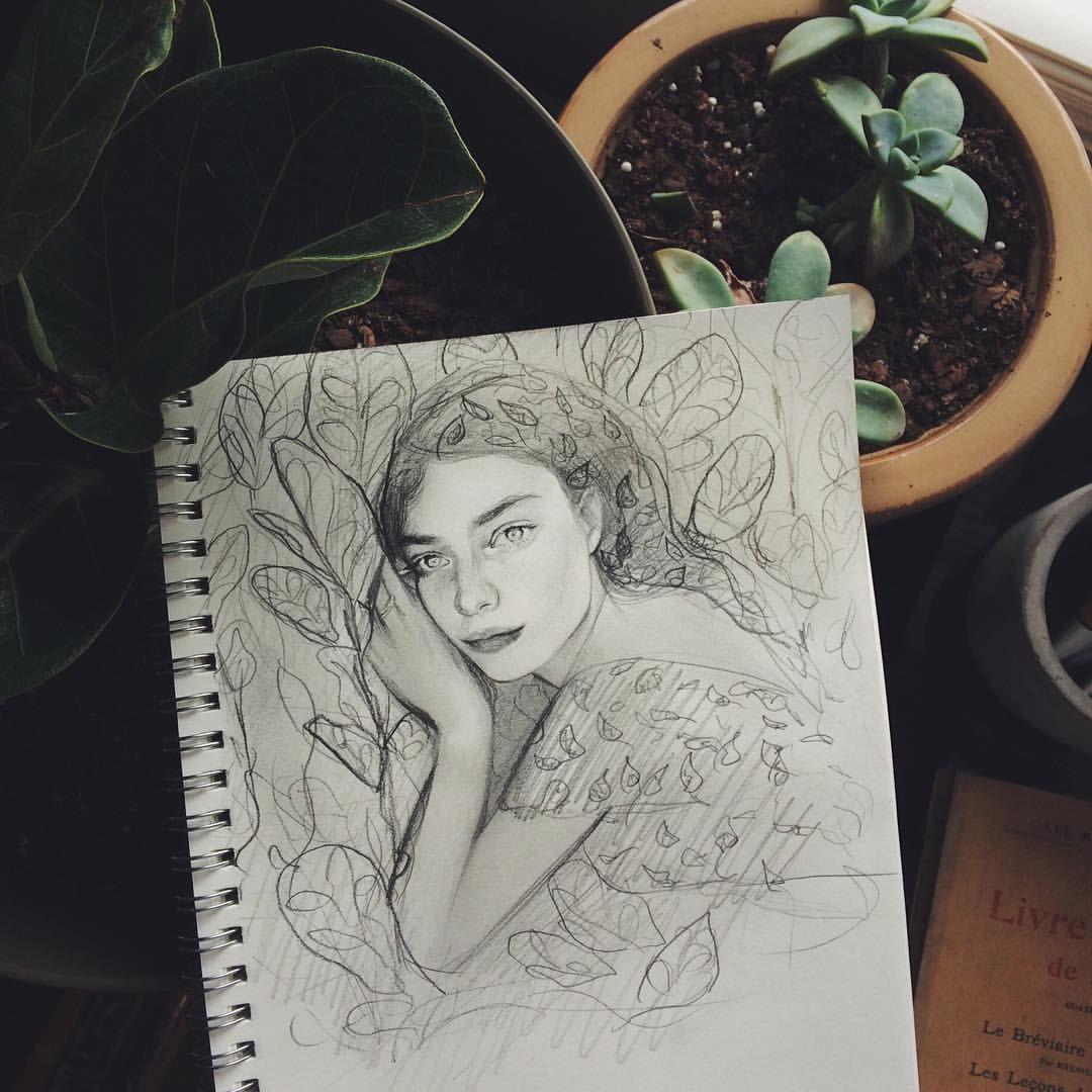Stefania the plant whisperer