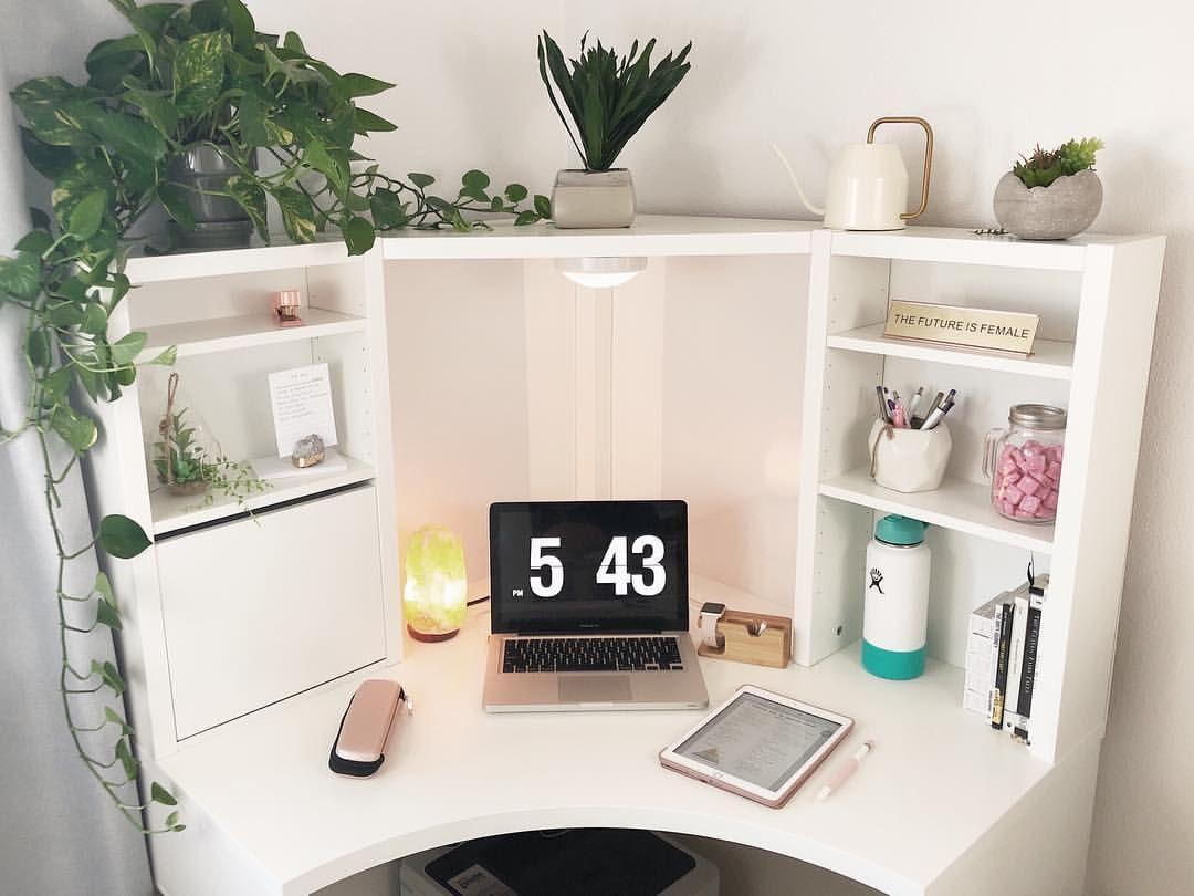 Ikea Mickie Study Desk Plants Taniajazmin On Instagram Ikea