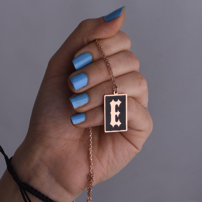 34++ Letter k necklace rose gold inspirations