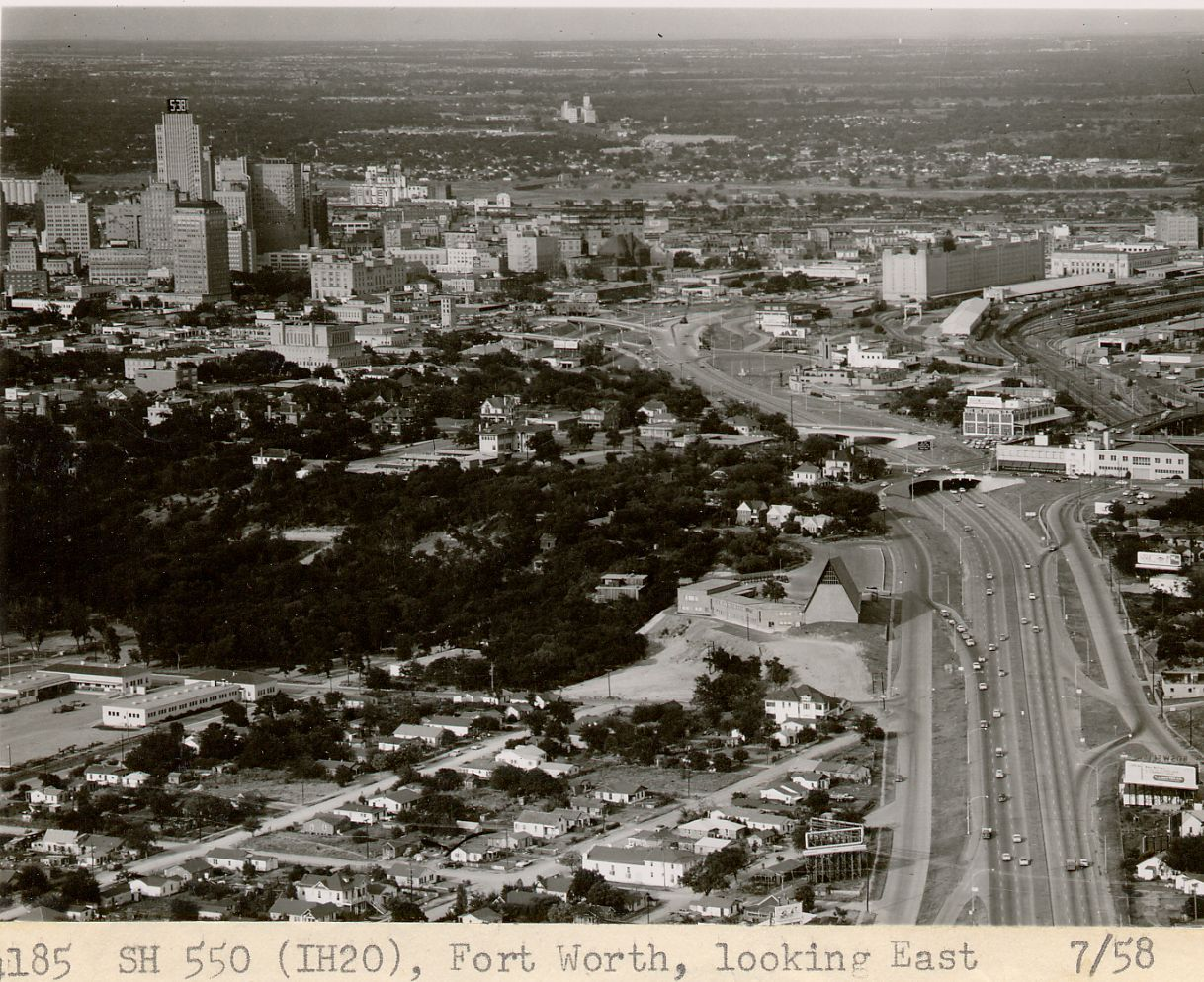Fort Worth - Aerial View 1930's - Historic Photographs ...
