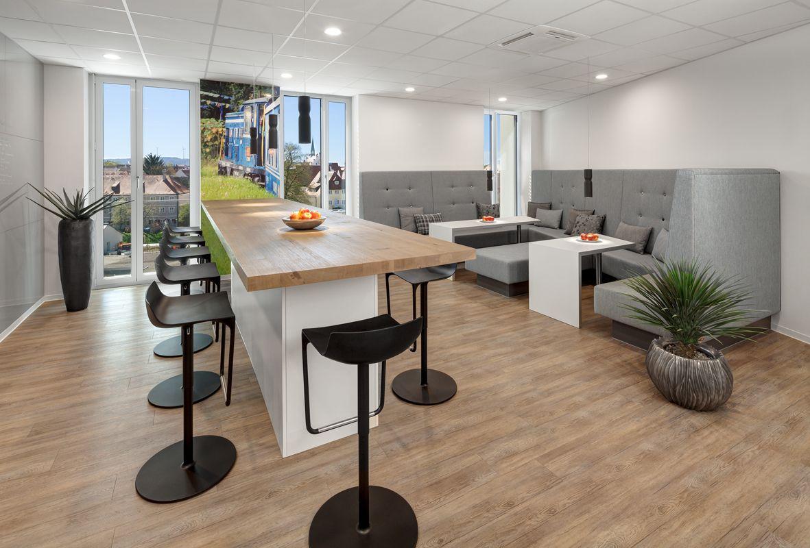Loungebereich, Tische, Besprechungstisch, Sitzgelegenheit, Glas ...