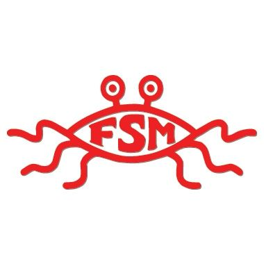 Flying Spaghetti Monster Vinyl Sticker