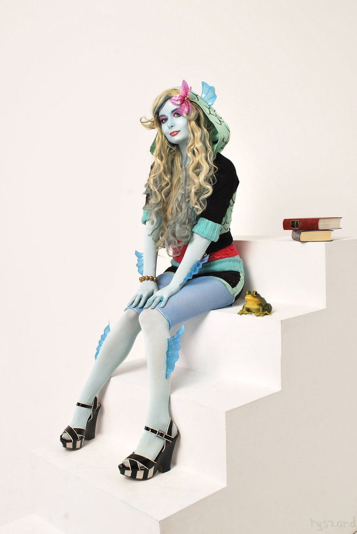 Monster High Lagoona Blue Kostuem.Monster High Monster High Costume Monster High Cosplay Monster High Halloween