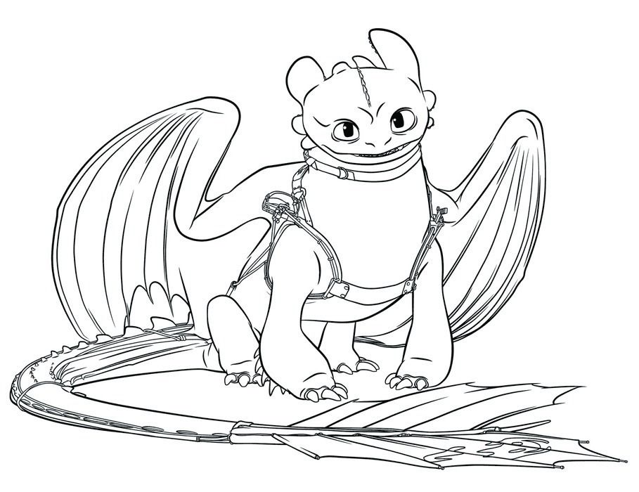 Furia Nocturna Para Colorear Dragon Coloring Page How Train Your Dragon Coloring Pages