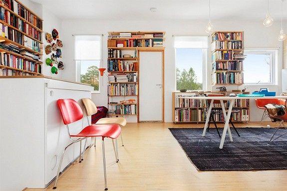 Ulsrud - Stilig og moderne enderekkehus over 2 plan. Vestvendt,