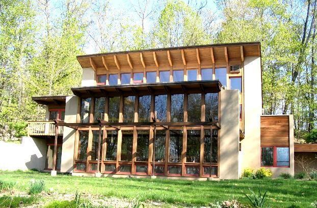 Passive solar design passive solar house plans green for Solar efficient house design