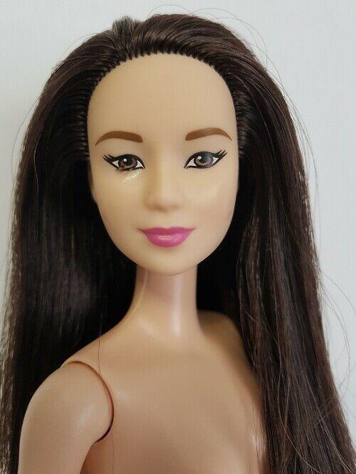 Machi- Asian Barbie Fashionistas Doll #3 OOAK Repaint by D