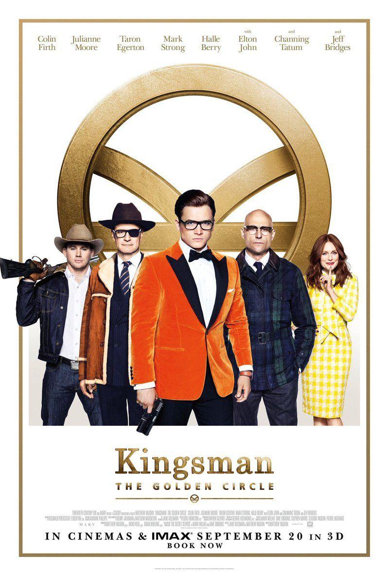 152 Kingsman The Golden Circle Sept 30th Kingsman The Golden Circle Watch Kingsman Circle Movie