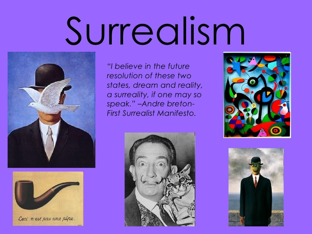 Surrealism Final By Sarahcaruso Via Slideshare In