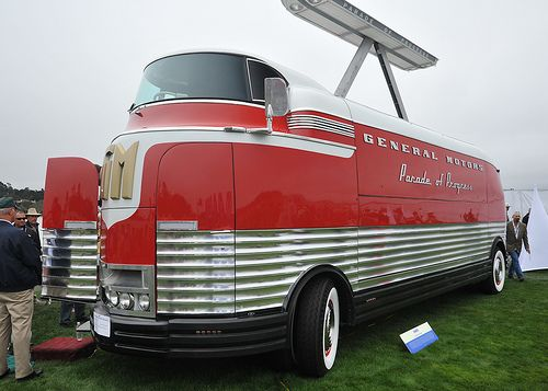 1950 gm futurliner parade of progress tour bus classic pinterest vehicle cars and wheels. Black Bedroom Furniture Sets. Home Design Ideas