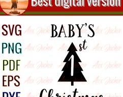 Baby's 1st christmas, christmas party, christmas decor,happy christmas day, funny christmas day, #1weihnachtstaglustig Alex Jacker on Zibbet: #1weihnachtstaglustig