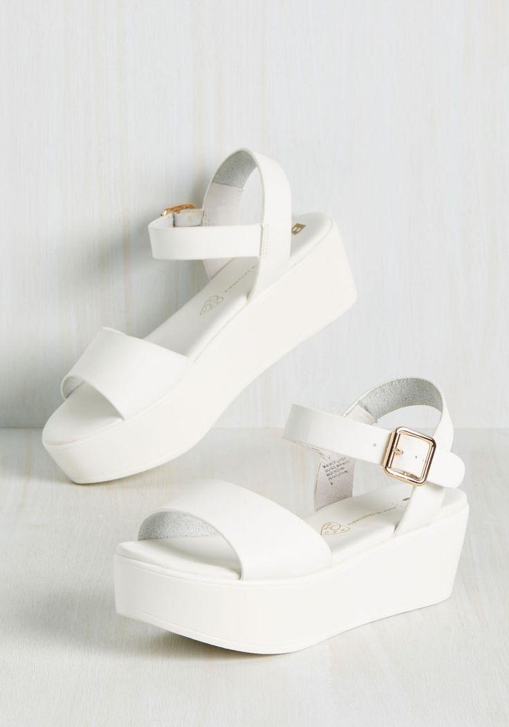 True to Flatform Sandal. Seeing you in