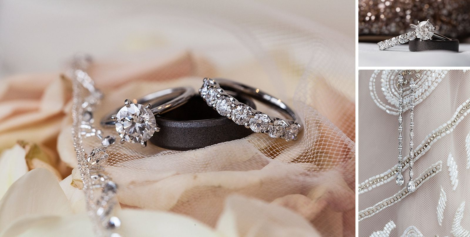 Wedding Rings Engagement Ring Bridal Look Details Hayley Paige