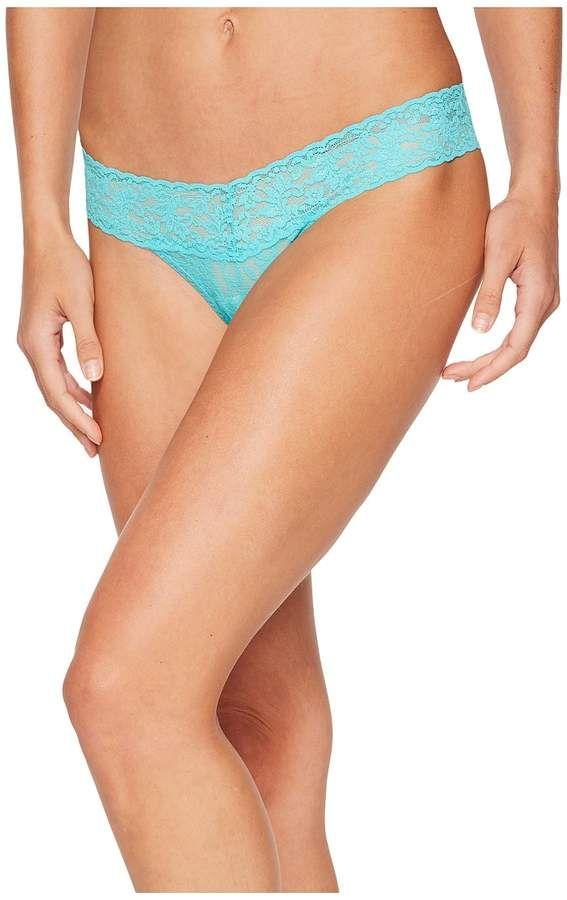 4bdd74872a49 Hanky Panky Petite Signature Lace Low Rise Thong Women's Underwear ...