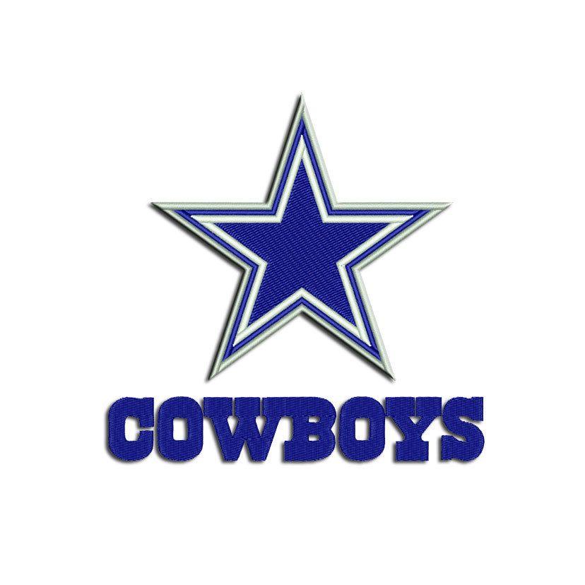 4ca75ad6 Dallas Cowboys embroidery design - Cowboys - Machine embroidery design -  applique - instant download from freeembroidery by Freeembroidery on Etsy