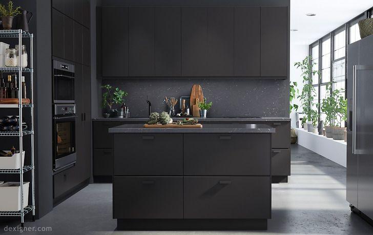 Ikea küchen schwarz  Bildergebnis für ikea kungsbacka | For the Home // Kitchen ...
