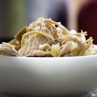 Crockpot Pork and Sauerkraut with Apples - Domestic Soul