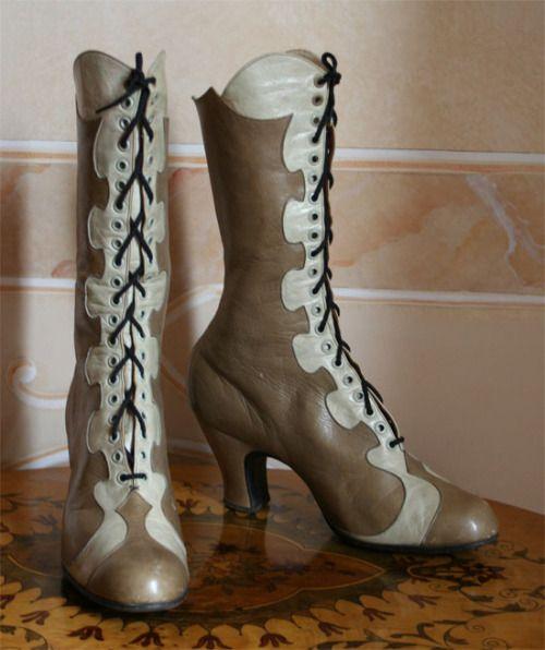 - Boots | Abiti Antichi . 1915 ./tcc/