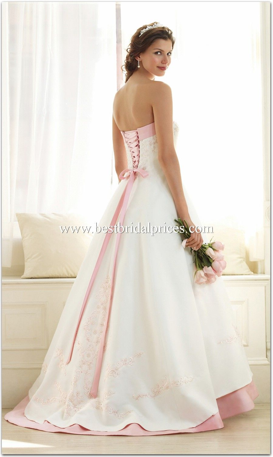 wedding dresses embroidered | Alfred Angelo Wedding Dresses - Style ...
