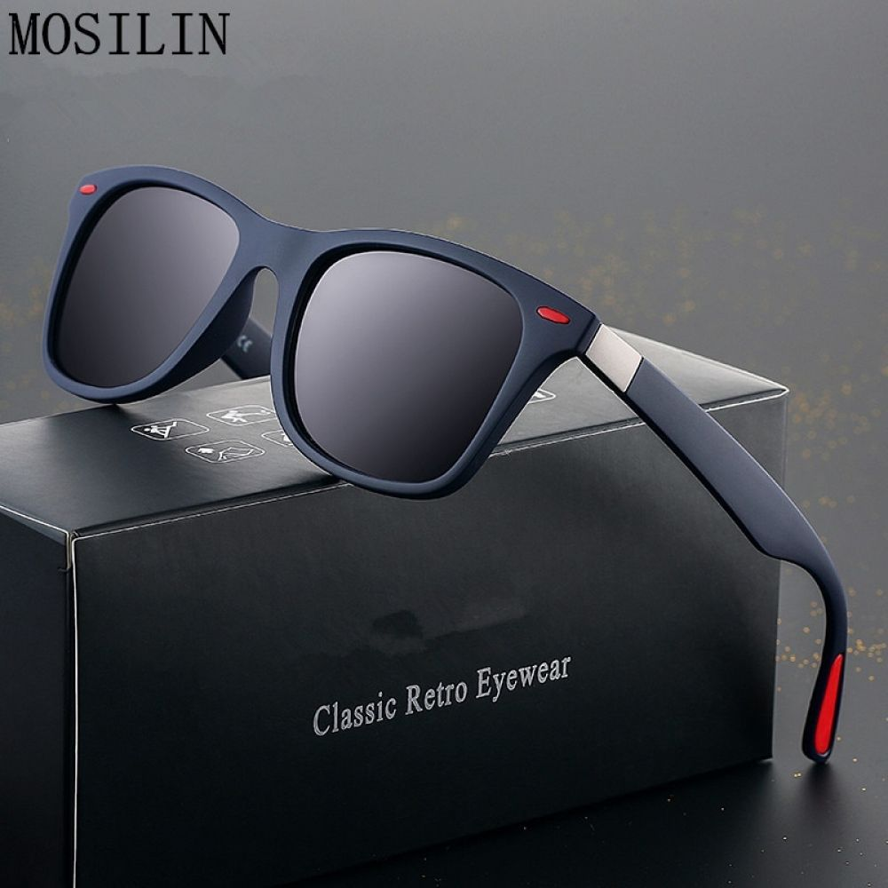 New Sunglasses Men Polarized Sunglasses Men Driving Mirrors Coating Points Black Frame Eyewear Male Sun Glasses Uv400 In 2020 Polarized Sunglasses Men Polarized Sunglasses Designer Polarized Sunglasses