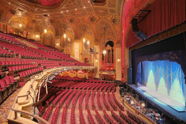 Shea Theater Buffalo Ny Hdr Originally The Seating Accommodated Nearly 4 000 People But Several Hundred Seats Were Removed In 1930s To Make More