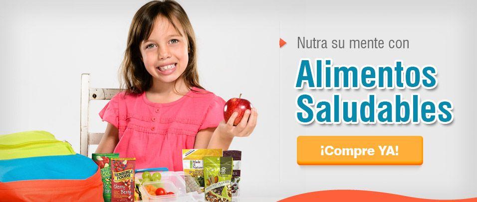 Nutra su mente con alimentos saludables    Es hora de volver al cole para ellos y ¡¡para nosotros!! http://es.puritan.com/search?scid=29135
