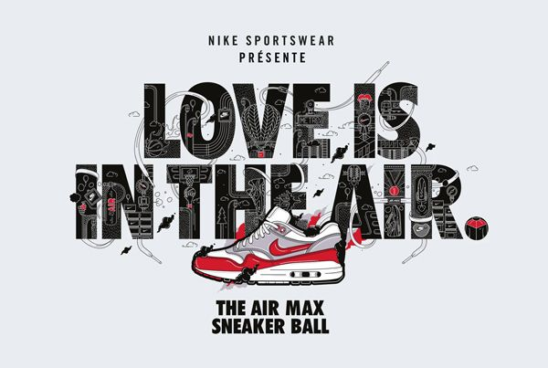 Nike Love is in the air sneaker ball ad