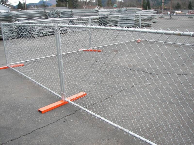 Chain Wire Temporary Fence Temporary Fencing Portable Fence Removable Fence Pool Fence And