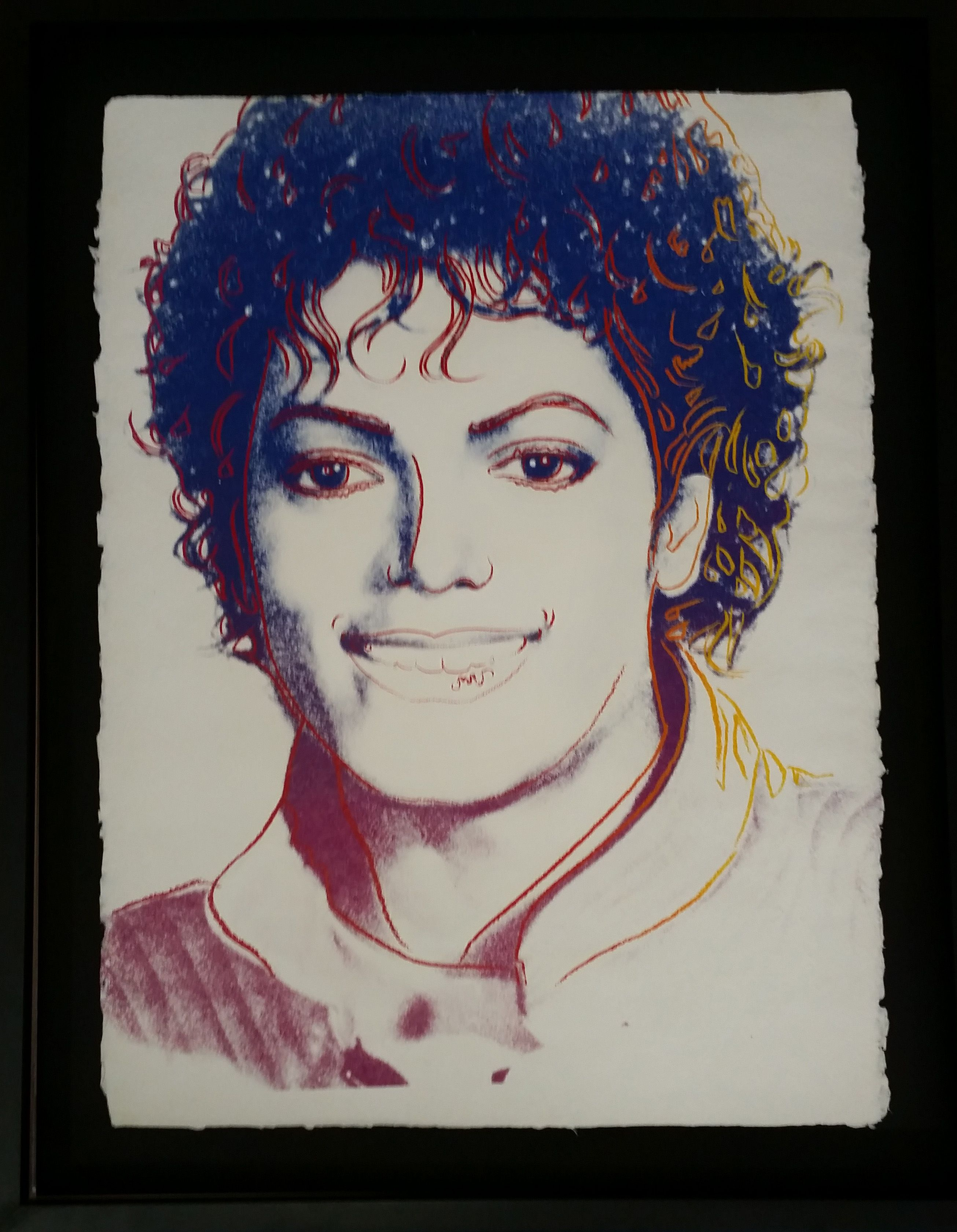 Andy Warhol Michael Jackson 23 If Ever Two People Were Meant To Cross Each Other S Paths It Would Be And