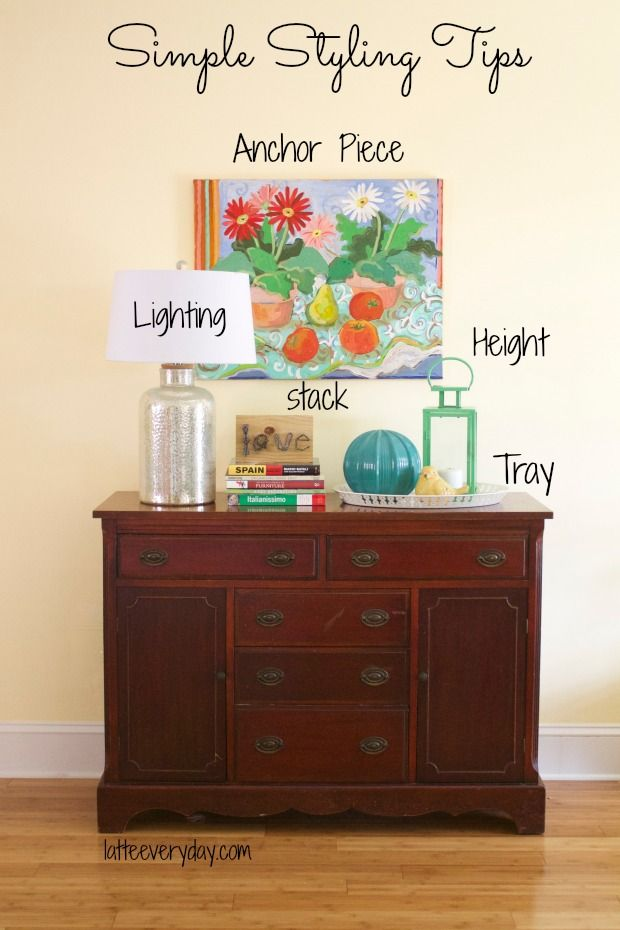 Captivating Simple Styling Tips For A Console  · Entryway Table DecorationsTray ... Part 30