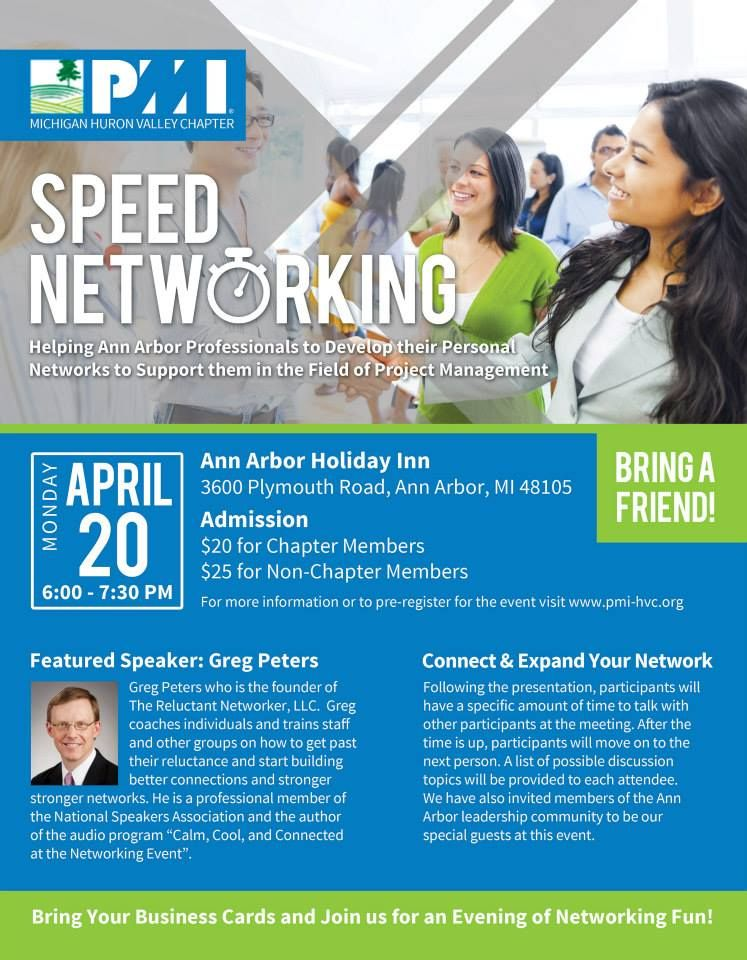 Networking Event Flyer Custom Designed Layout
