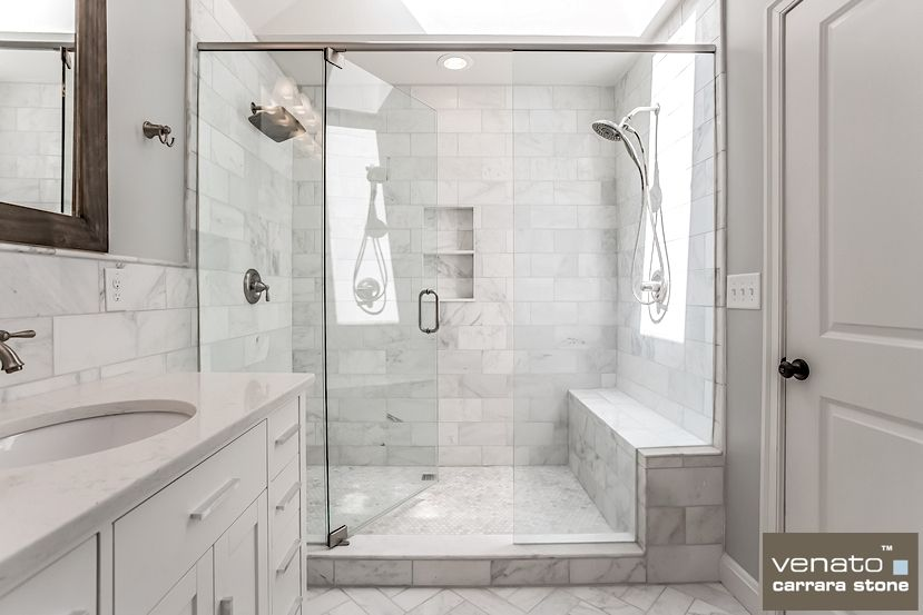 Carrara Venato Marble Bathroom Bathroom Wall Tile Small Bathroom