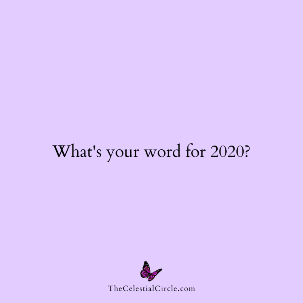 What S Your Word For The Year Celestial University Words Create Quotes Your Word