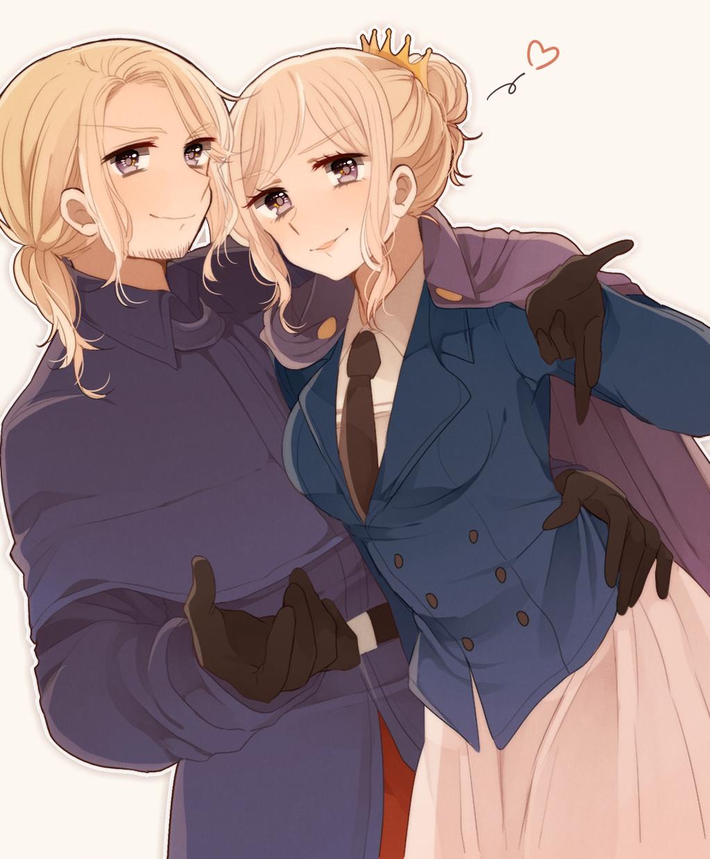 Hetalia - France and Nyo!France
