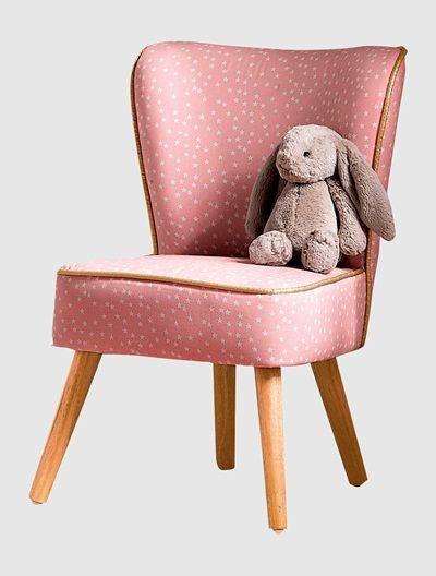 Kindersessel rosa  Kindersessel mit Sternen ROSA | For the kid | Pinterest