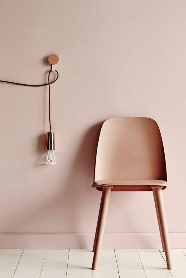 Wandfarbe Apricot Der Frische Trend Bei Der Wandgestaltung In 40 Beispielen Wandfarbe Wohnzimmer Farben Fur Wande Und Moderne Wandfarben