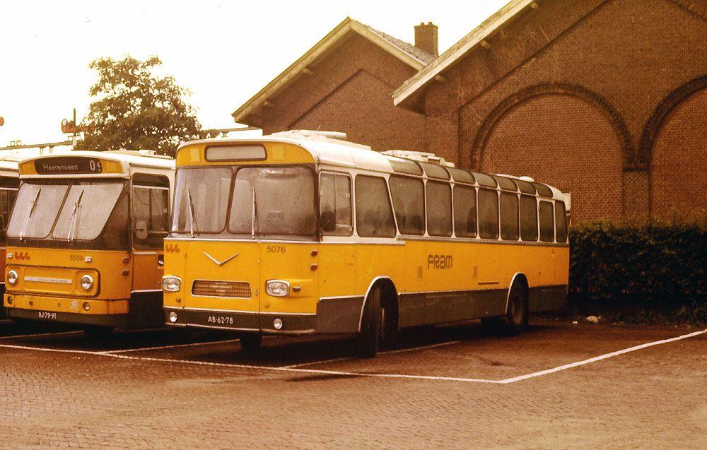 Openbaar Vervoer Wereldwijd Nederland jaren 80 Vehicles
