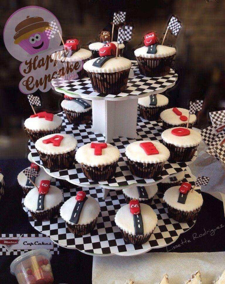 Rayo McQueen !! Cupcakes