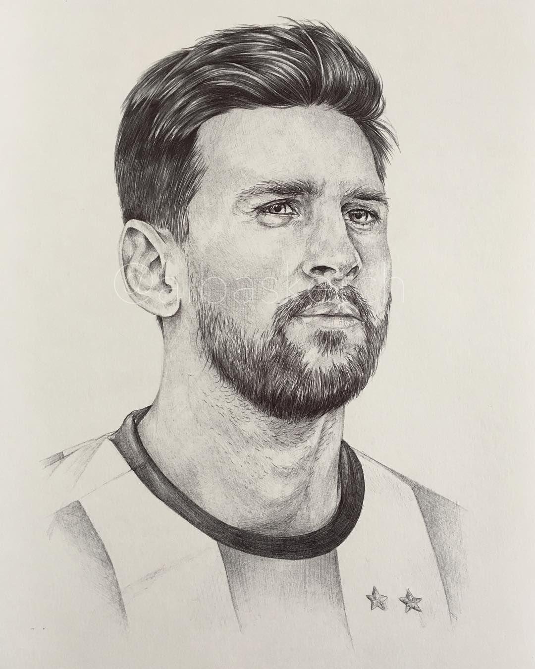 Lionel Messi Argentina Fwc18 By Albasketch Draw Drawing Illustration Art Artist Sketch Sketchbook Ink Messi Leo L Messi Drawing Lionel Messi Messi