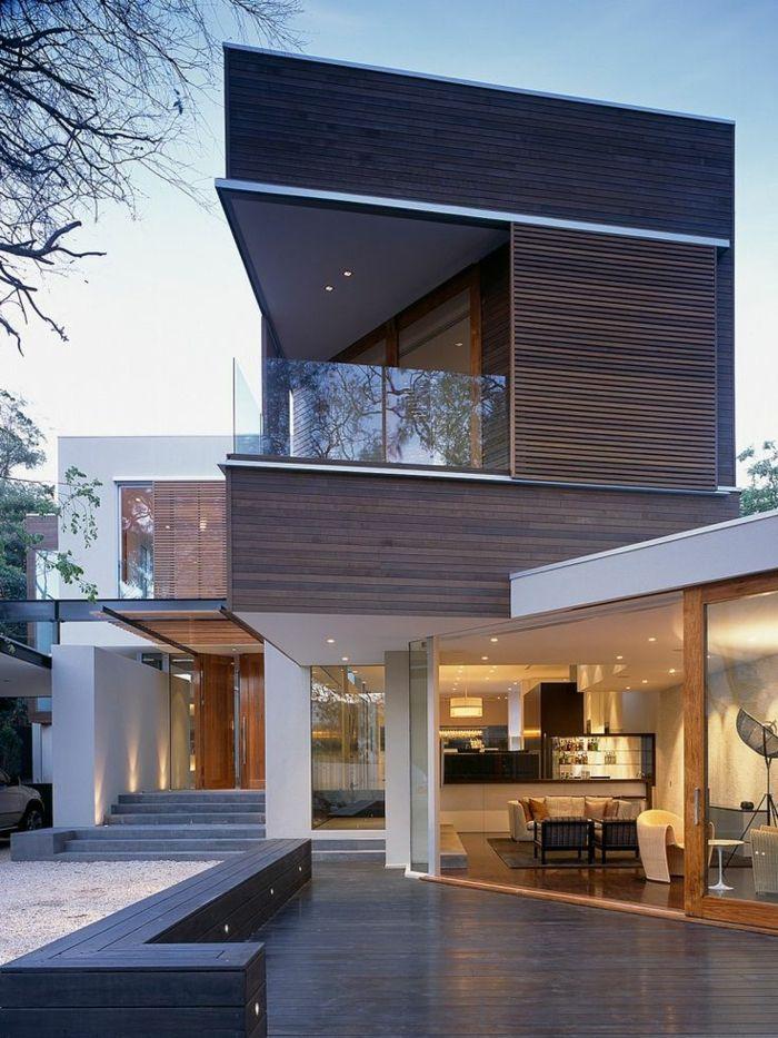 Modern · une jolie maison triangle de luxe avec extérieur