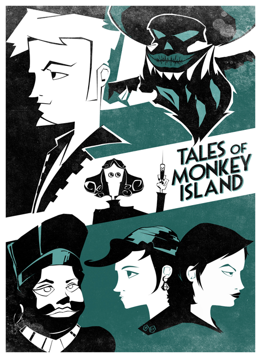 Tales of Monkey Island Poster by ~Nemiant on deviantART