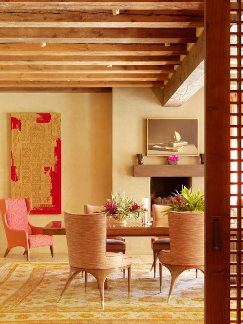 Dining Room by Jay Jeffers, gorgeous palette