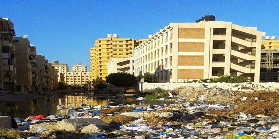 محلي الإسكندرية مدرسة عبد المنعم واصل التجريبية تغرق في مياه الص Street View Scenes Views