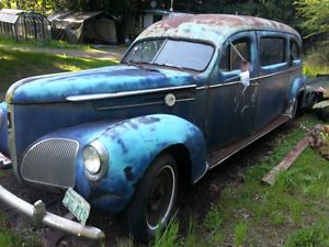 1940 Studebaker Hearse, now that is a station wagon.