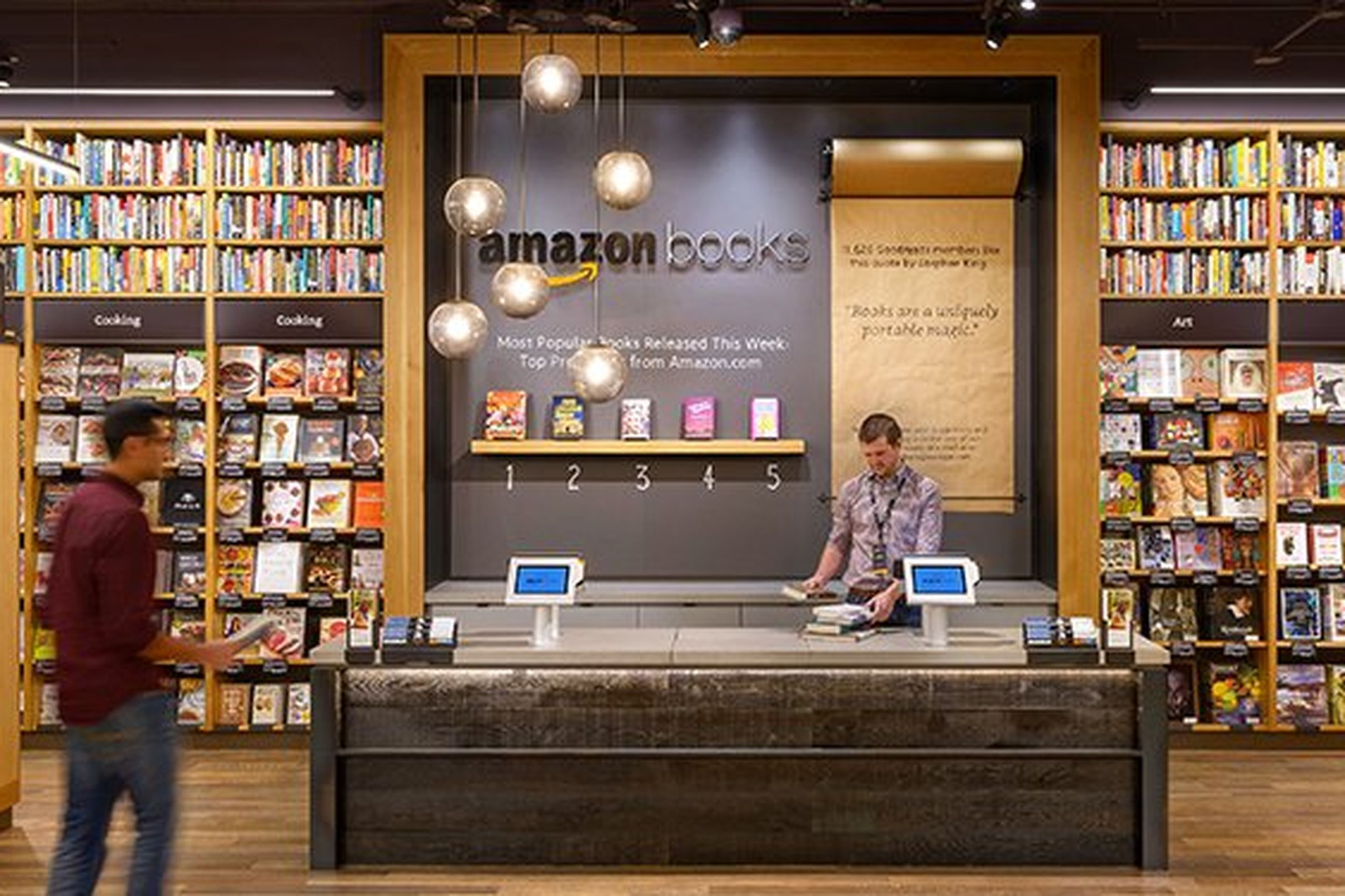 Amazon's Second Bay Area Store Will Include a Café Buy