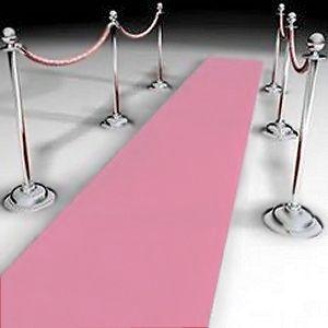 Pink Carpet Runner Decoration Princess Party Decoration Ideas Baby Shower Princess Princess Party Decorations Pink Carpet