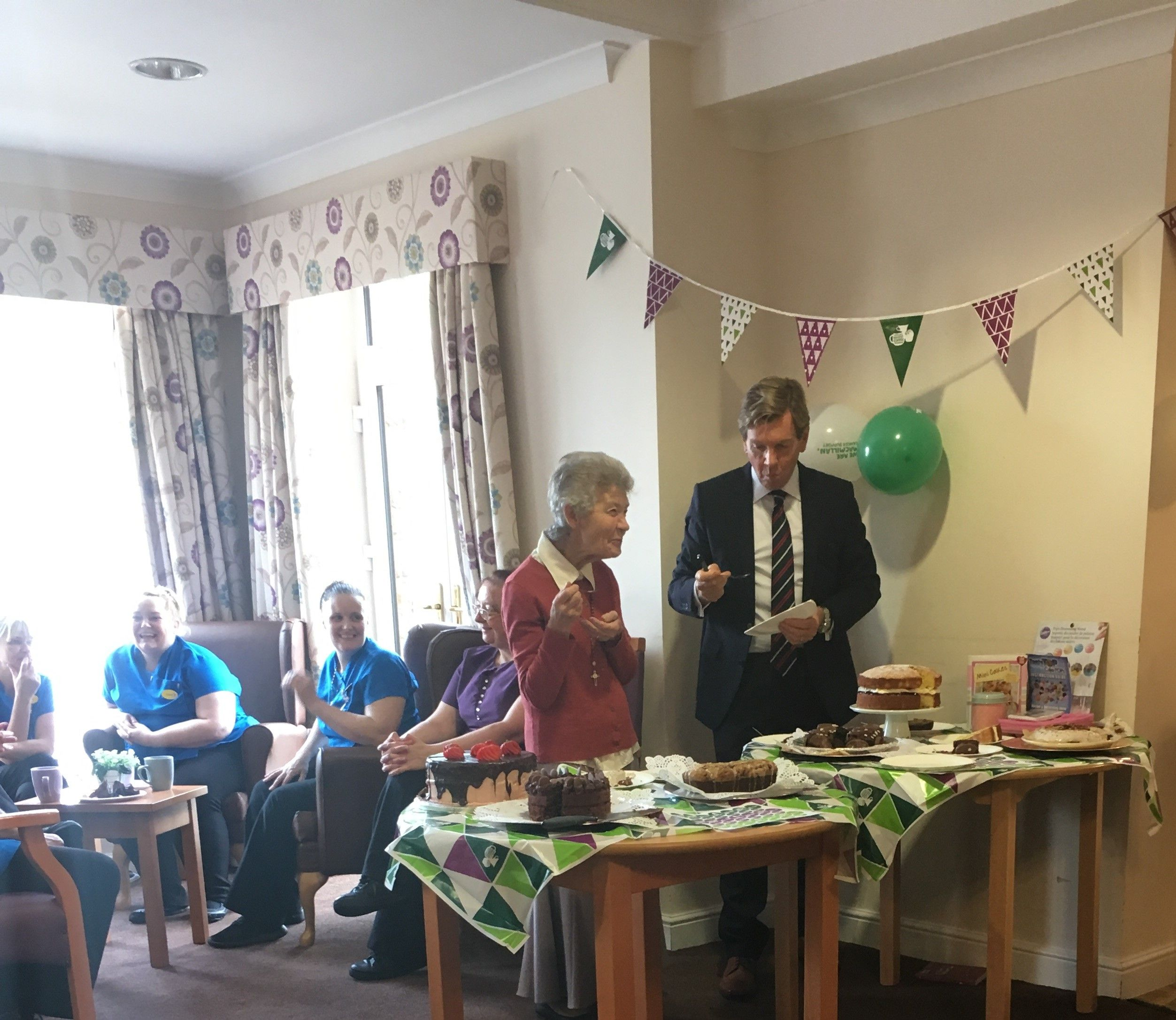 Charity bake-off at Springhill - Springhill Care Home